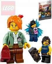 LEGO NINJAGO Movie 2.serie mini figurka set s doplňky a podstavcem různé druhy