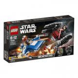 LEGO STAR WARS Stíhačka A-Wing vs. mikrostíhačka TIE Silencer STAVEBNICE 75196