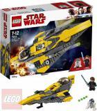 LEGO STAR WARS Anakinův jediský Starfighter 75214 STAVEBNICE