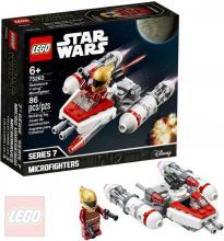 LEGO STAR WARS Mikrostíhačka Odboje Y-wing 75263 STAVEBNICE