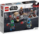 LEGO STAR WARS Bitevní balíček Mandalorianů 75267 STAVEBNICE
