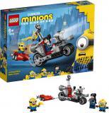LEGO MINIONS Divoká honička na motorce 75549 STAVEBNICE