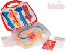 KLEIN Doktorka kufřík transparentní set dětské lékařské potřeby plast