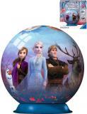 RAVENSBURGER Puzzleball 3D Frozen 2 skládačka 72 dílků plast