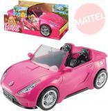 MATTEL BRB Auto růžový kabriolet pro panenku Barbie plastový