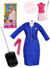 MATTEL BRB Set oblečení s doplňky profese pro panenku Barbie různé druhy