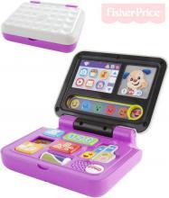 FISHER PRICE Baby laptop naučný notebook CZ na baterie Zvuk pro miminko