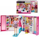 MATTEL BRB Barbie šatník snů herní set s panenkou a doplňky