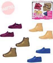 MATTEL BRB Barbie boty pro panáka Kena set 4 páry na kartě plast
