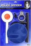 John Toy Policejní dětský herní set čepice s pouty a doplňky na kartě
