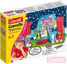 QUERCETTI Georello Teatrino Fairy stavebnice převodová 60 dílků v krabici plast