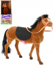 Sparkle Girlz koník malý parkurový flískový v krabici