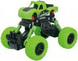 Auto 4WD Monster Car zelené 1:43 zpětný chod velká kola plast