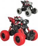 Auto 4WD Monster Car 1:43 zpětný chod velká kola 2 barvy plast