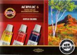 Akrylová barva souprava 6x16ml