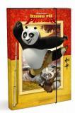 Školní desky-box A4 Panda Kung Fu