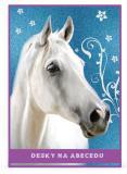 Desky na abecedu Junior Kůň