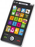 Smartphone telefon dětský dotykový 4 hry naučný na baterie CZ/SK/AJ Zvuk
