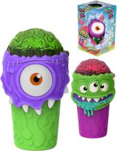 Slushy Monster výroba ledové tříště dětský shaker 2 druhy plast v krabici