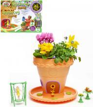 My Fair Garden květinový domeček set pohádkový květináč se semínky a doplňky