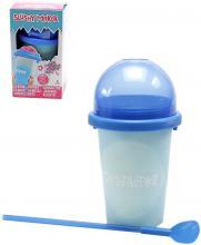 Chillfactor Slushy Maker výroba ledové tříště dětský shaker Modrý mění barvu plast