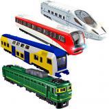Robocarz vlak kovový volný chod 15cm model 4 druhy