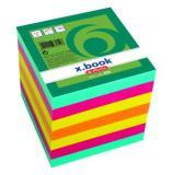 Poznámková kostka 90x90x90mm 700 listů barvená
