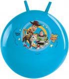 Míč skákací Příběh hraček 4 (Toy Story) 50cm modré dětské hopsadlo s držadly