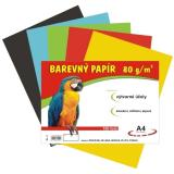 Kreslicí karton A4 180g/10 listů mix barev