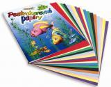 Složka barevných papírů A4/20
