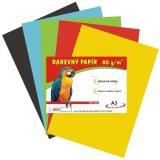 Papír pro výtvarnou výchovu A4/80g-100l-mix barev