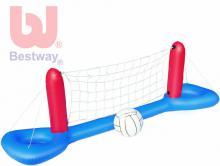 BESTWAY Volejbalový plovoucí nafukovací set s míčem na vodu