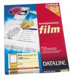 Folie Dataline A4 pro kopírovací stroje