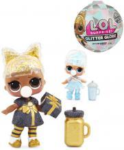 L.O.L. Surprise panenka zimní třpytková 8 překvapení v kouli různé druhy
