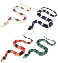 Had 27cm gumové zvířátko 4 barvy