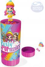 SPIN MASTER Party Popteenies set panenka s konfetami a doplňky v tubě 8 druhů