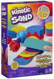 SPIN MASTER Kinetic Sand duhová sada magický písek s nástroji