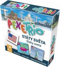 BETEXA Hra naučná Pexetrio Státy světa *SPOLEČENSKÉ HRY*