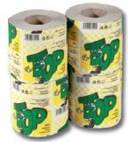Toaletní papír TOP jednovstvý, 400 útržků