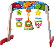 NINY DŘEVO Baby hrazdička dřevěná 56x45x49cm pro miminko