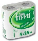 Toaletní papír Linteo Satin dvouvrstvý, 200 útržků
