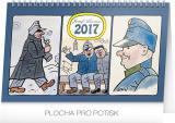 Stolní kalendář Josef Lada Švejk