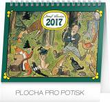 Stolní kalendář Josef Lada V lese