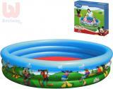 BESTWAY Bazén dětský kruhový nafukovací 122x25cm Mickey Mouse