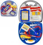 Doktorka kufřík zdravotnický set dětské lékařské potřeby plast