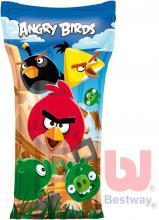 BESTWAY Matrace nafukovací dětská 119x61cm na vodu Angry Birds (lehátko)