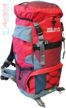 ACRA Batoh turistický 45l červený 2 komory 30x19x52cm Brother BA45