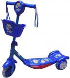 ACRA CSK 5 Koloběžka dětská 3 kola modrá 54x21x58cm s košíkem