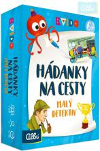 ALBI Kvído Hádanky na cesty Malý detektiv set 40 kartiček s houbičkou a fixou