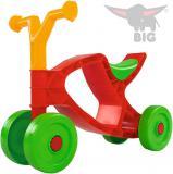 BIG Baby odrážedlo Flippi barevné 4 kolečka plast